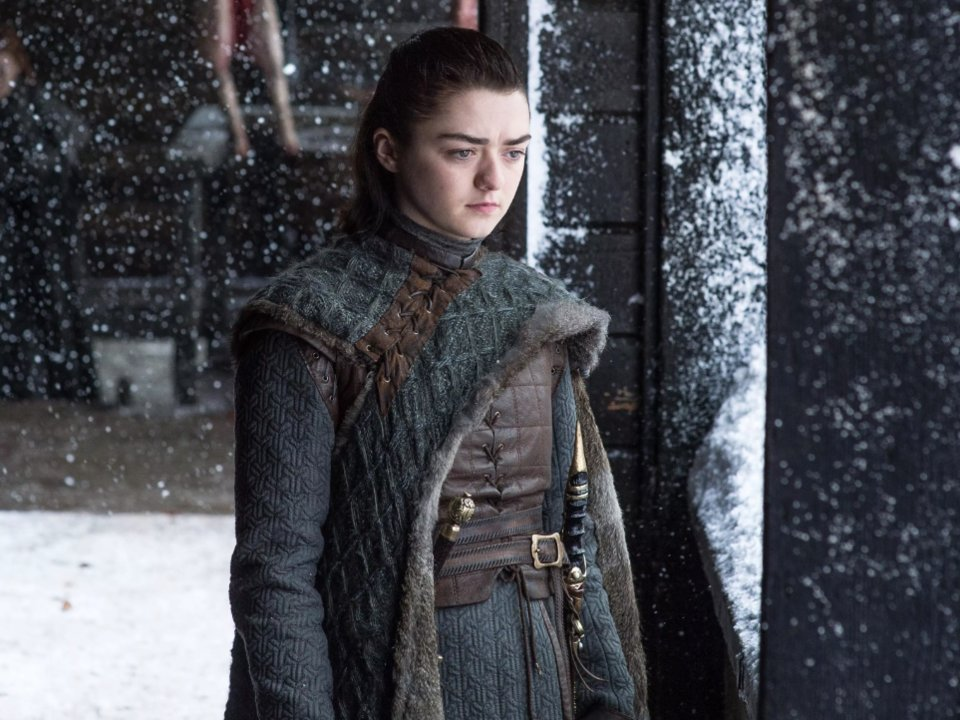 Arya Stark, Courtesy of HBO